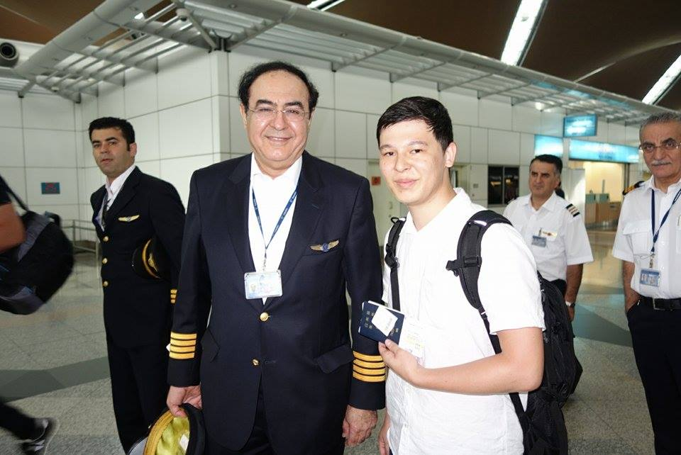 With Captain
