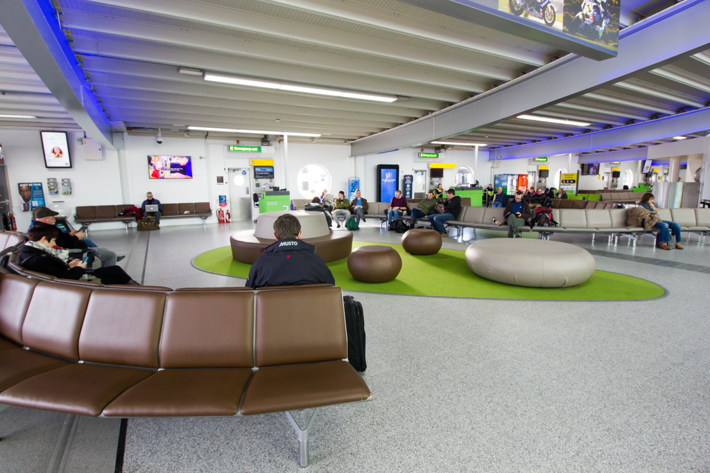 Southampton Airport Departure Lounge