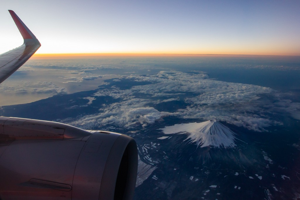 Mt. Fuji During Sunrise