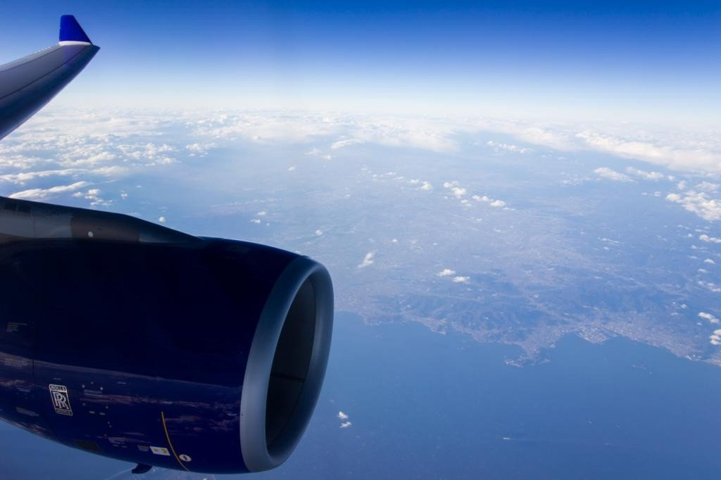 Skymark A330 Wingview