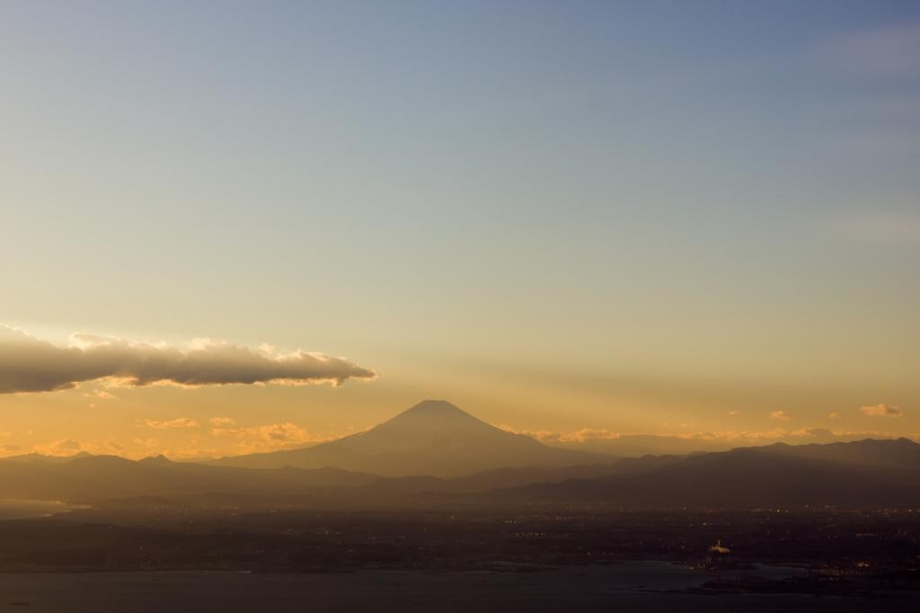 Mt. Fuji During Sunset