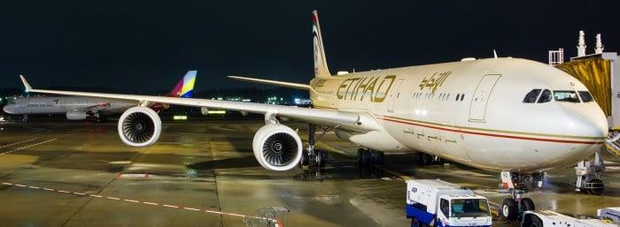 Experiencing Etihad Pt. 1: NRT-AUH on A340-500