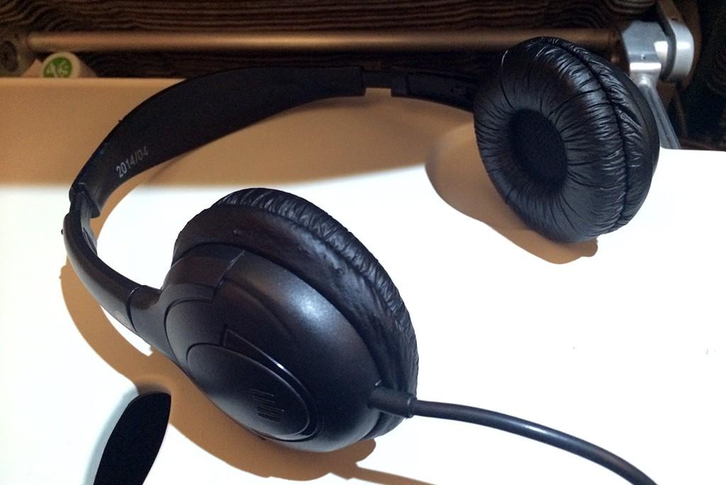 Etihad Headset