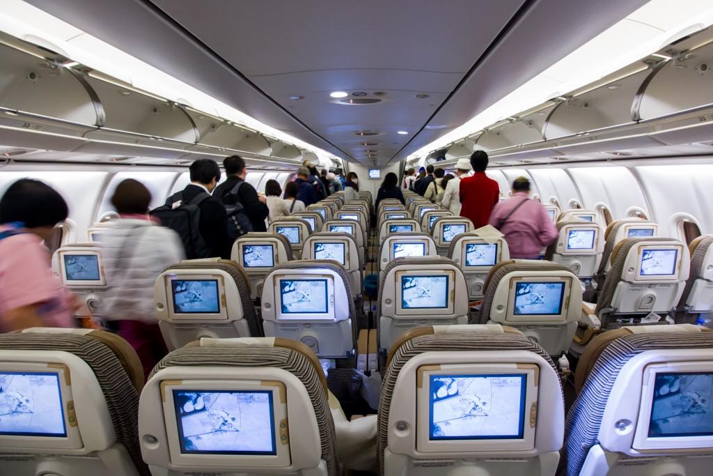 Etihad A340-500 Economy