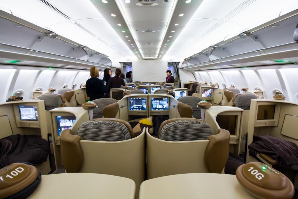 Etihad A340-500 Business