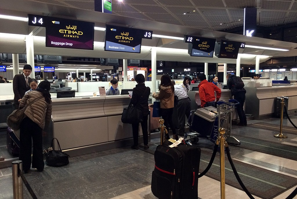 Etihad Airways Check-In