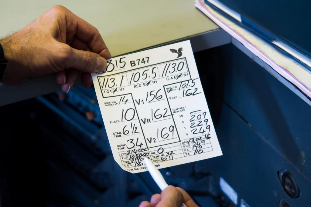 Flight Information Sheet