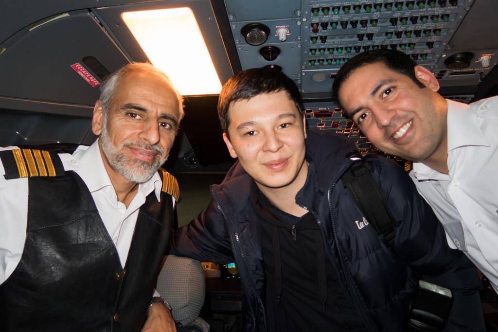 With Cockpit Crew