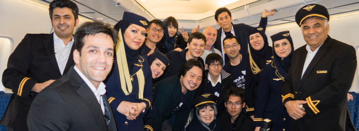 Day 1: KUL-IKA Onboard IR 747-200