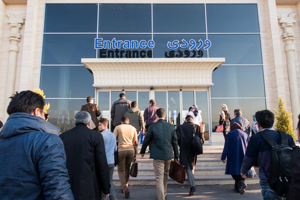 イラン旅行5日目: カスピアン航空でシラーズへ