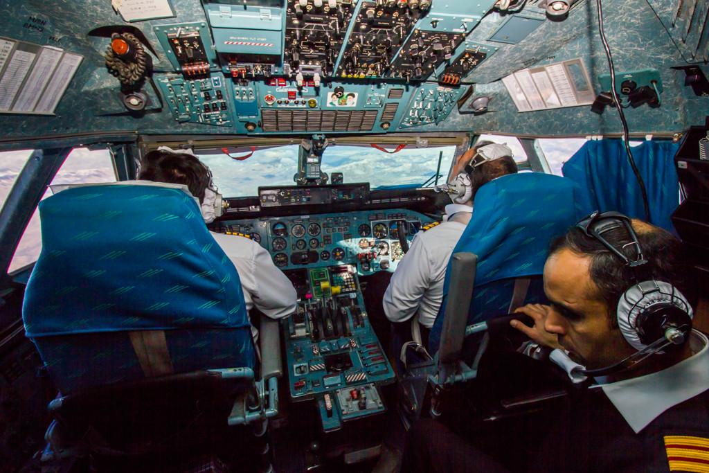 Cockpit Visit