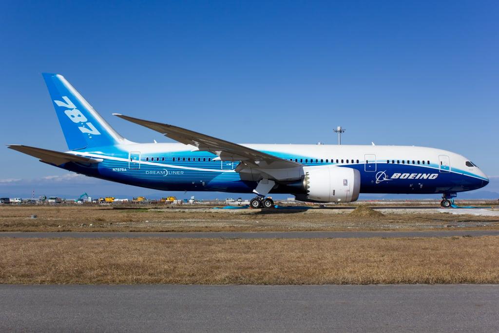 ZA001 Boeing 787 Dreamliner Prototype