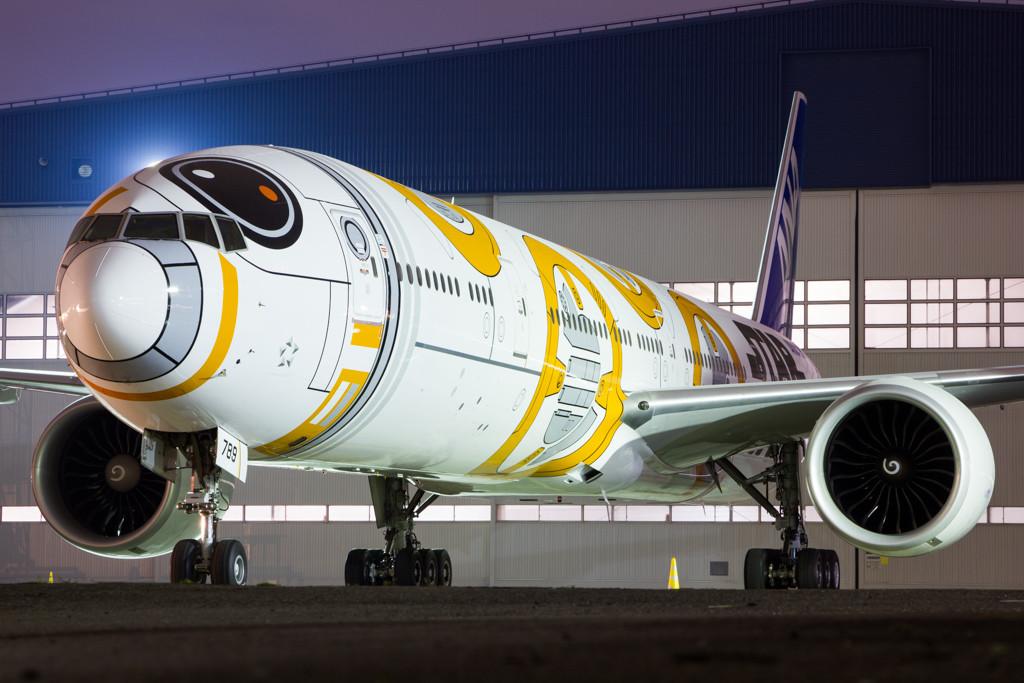BB-8 at Night
