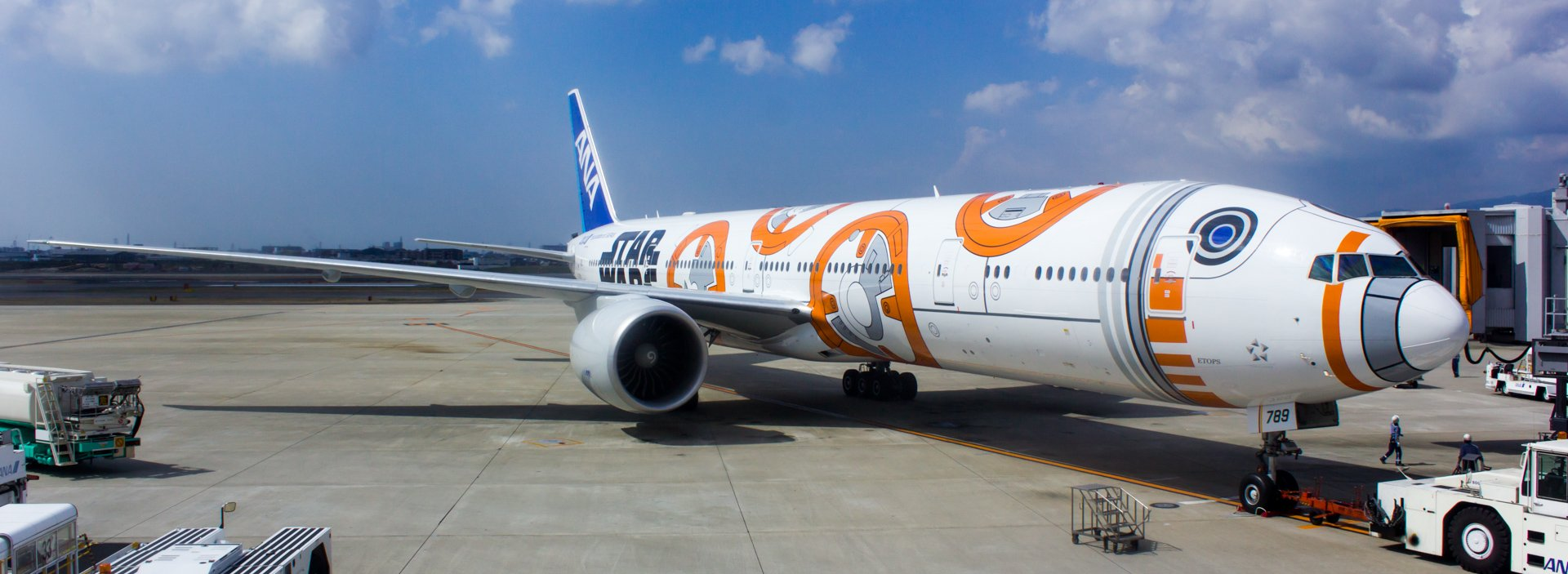 Star Wars BB-8™ ANA Jet Pt. 2: The Inaugural