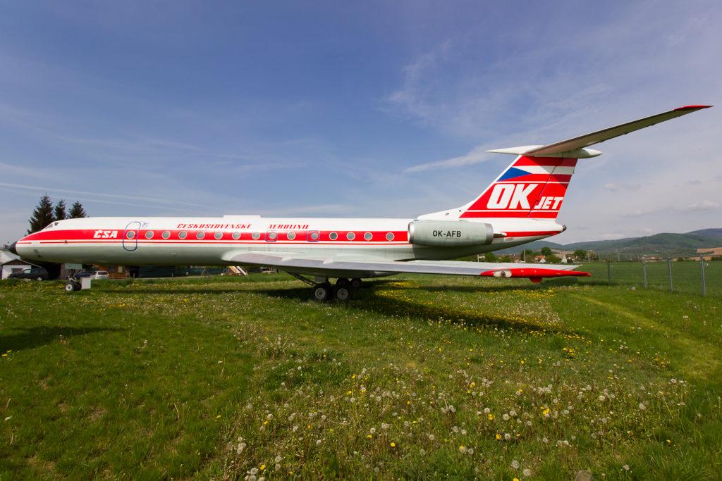 Tupolev Tu-134A / CSA Czechoslovak Airlines / OK-AFB / cn 1351410
