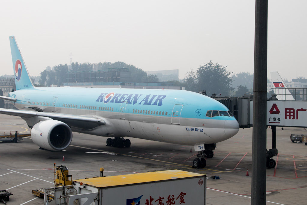 Korean Air Next to Air Koryo