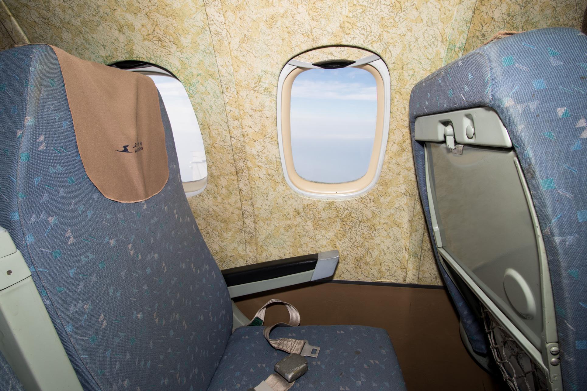 Classic Tu-154 Interior