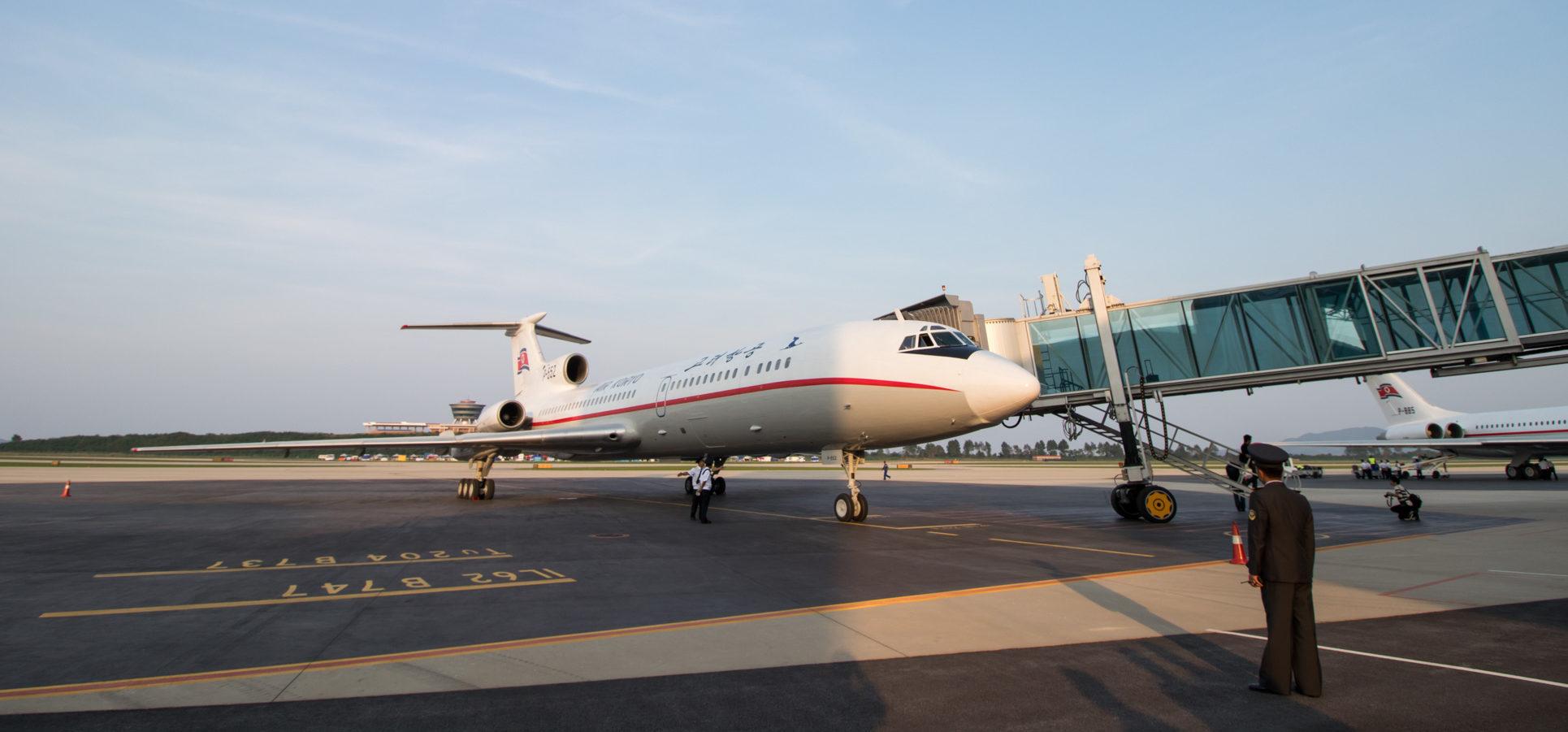 Air Koryo Tu-154B