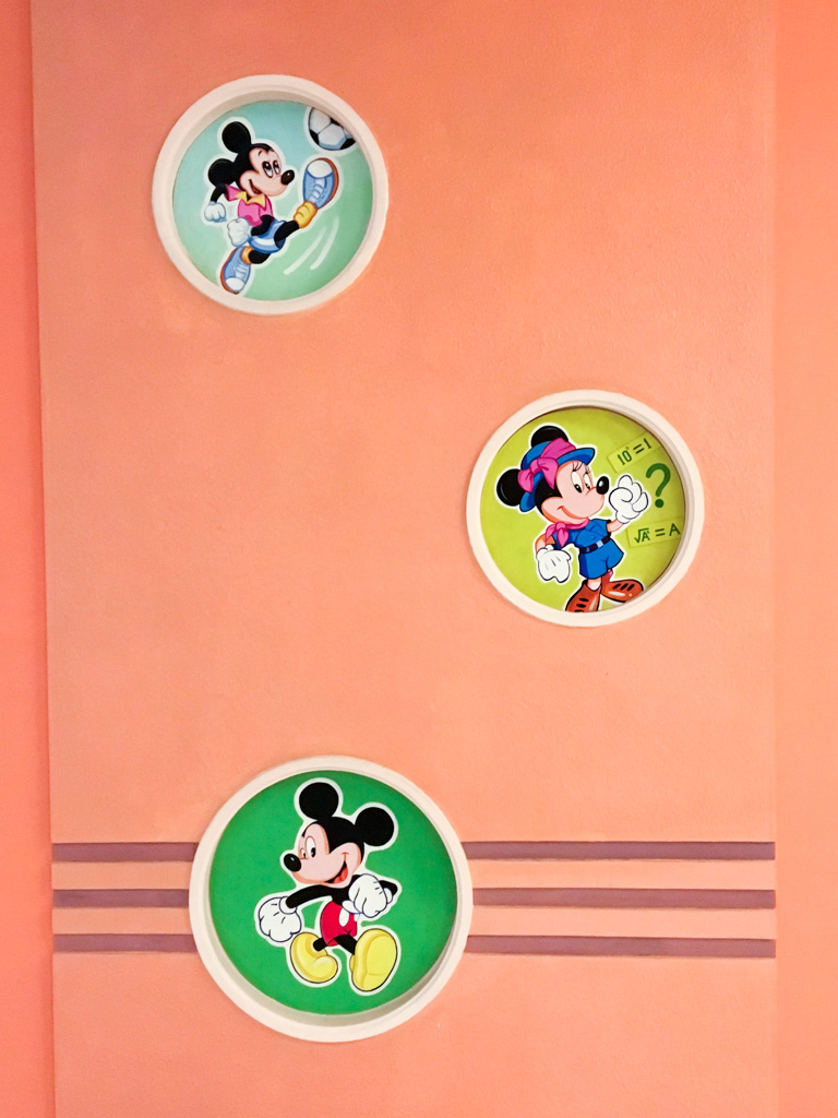 Mickey Mouse Wall