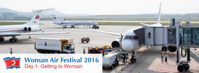 Wonsan Air Festival 2016 - Day 1: Getting to Wonsan