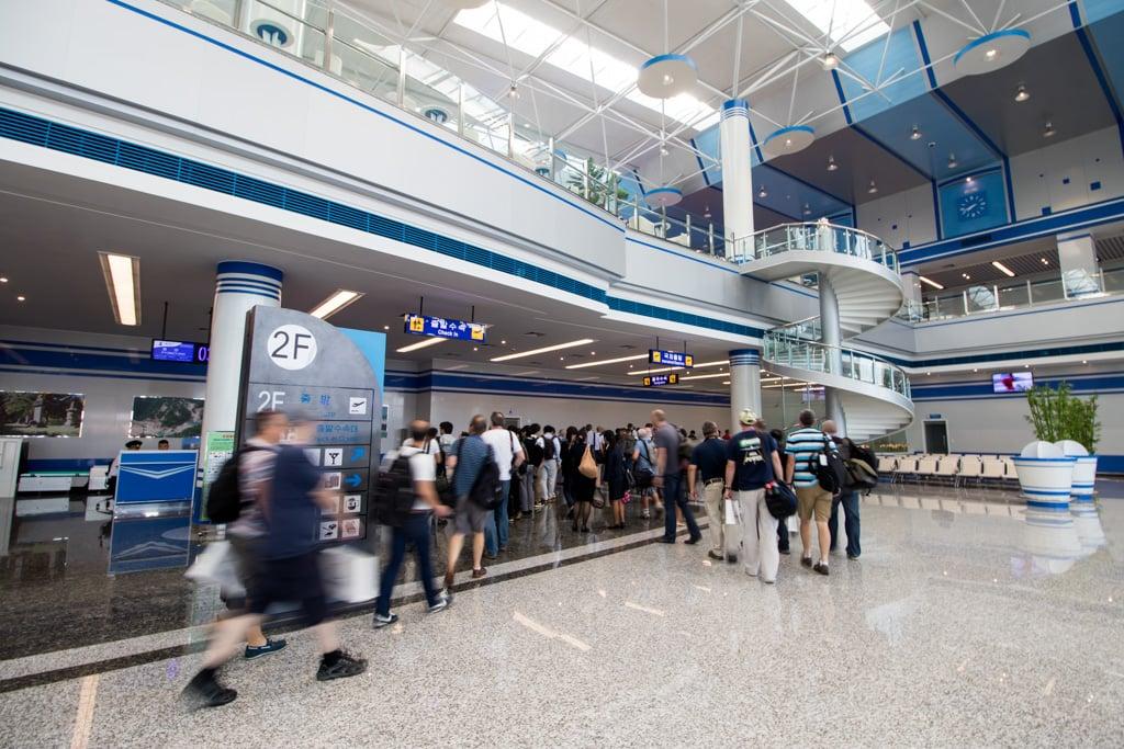 Wonsan Airport Terminal