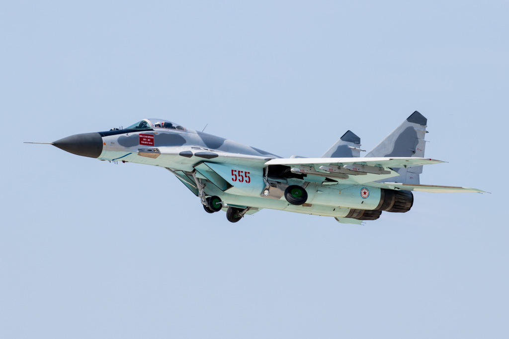Korean People's Army Air Force Mig-29