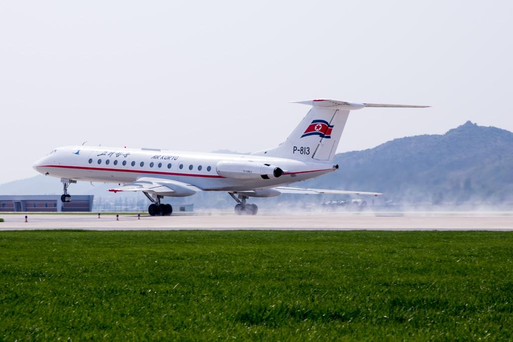 Air Koryo Tupolev Tu-134