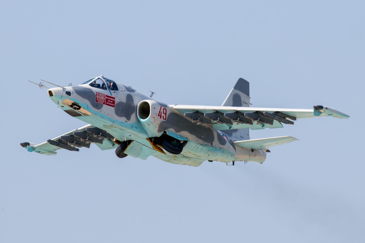 Korean People's Army Su-25