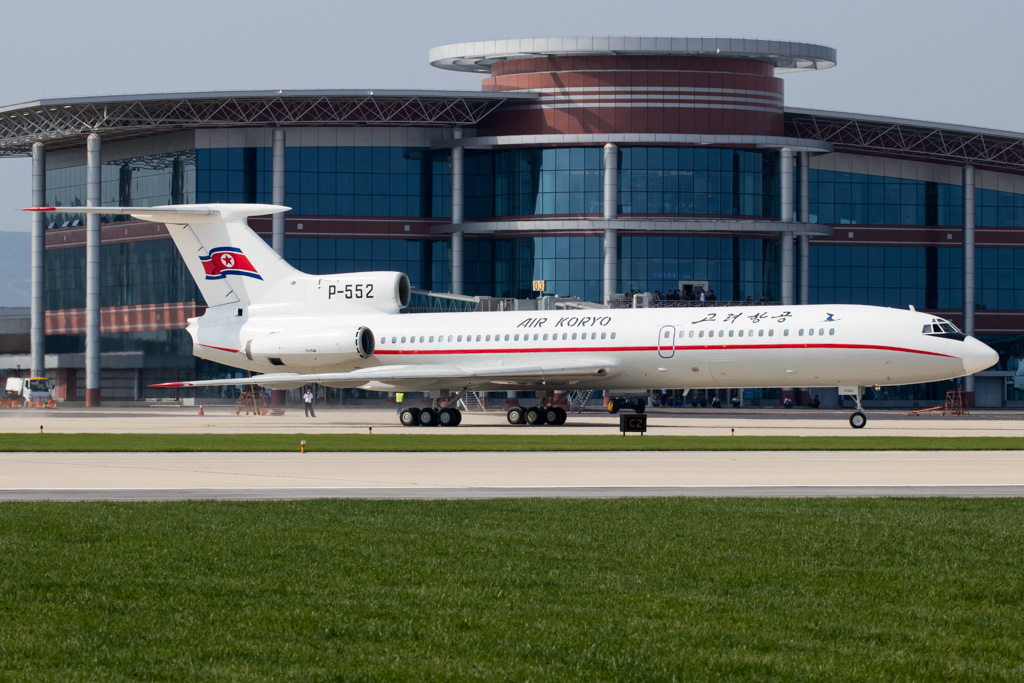 Air Koryo Tupolev Tu-154