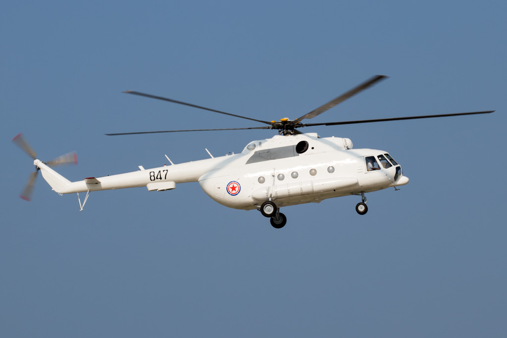 Korean People's Army Mil Mi-17