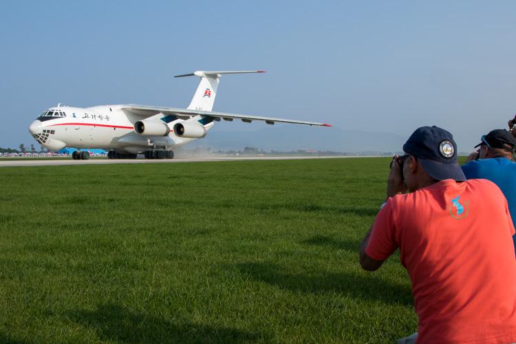 Air Koryo Ilyushin Il-76