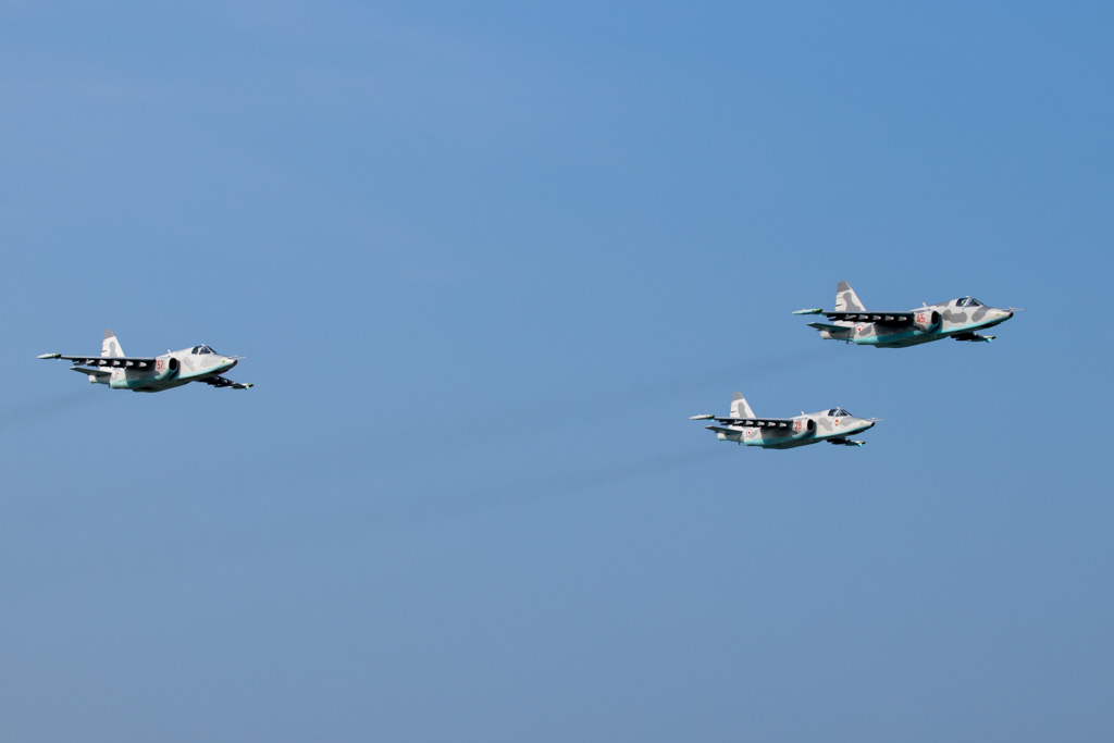 Korean People's Army Sukhoi Su-25