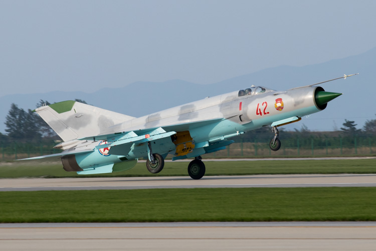 Korean People's Army Mig-21