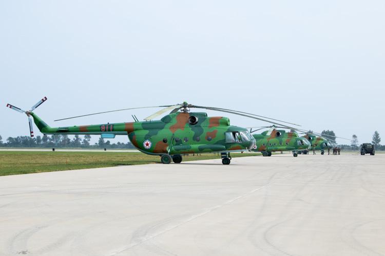 Mi-8 Line Up