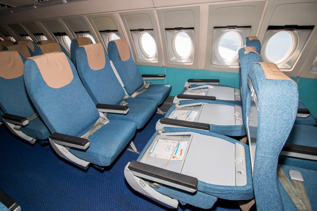 Ilyushin Il-62 Seats