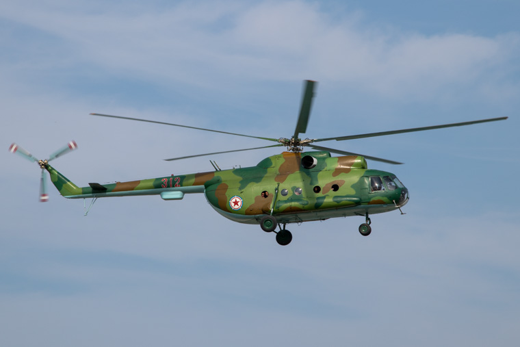North Korean Air Force Mil Mi-8