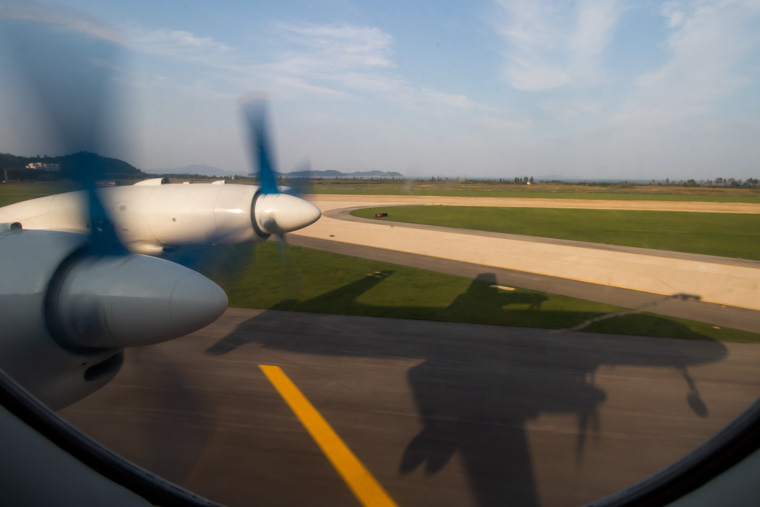Il-18 Landing