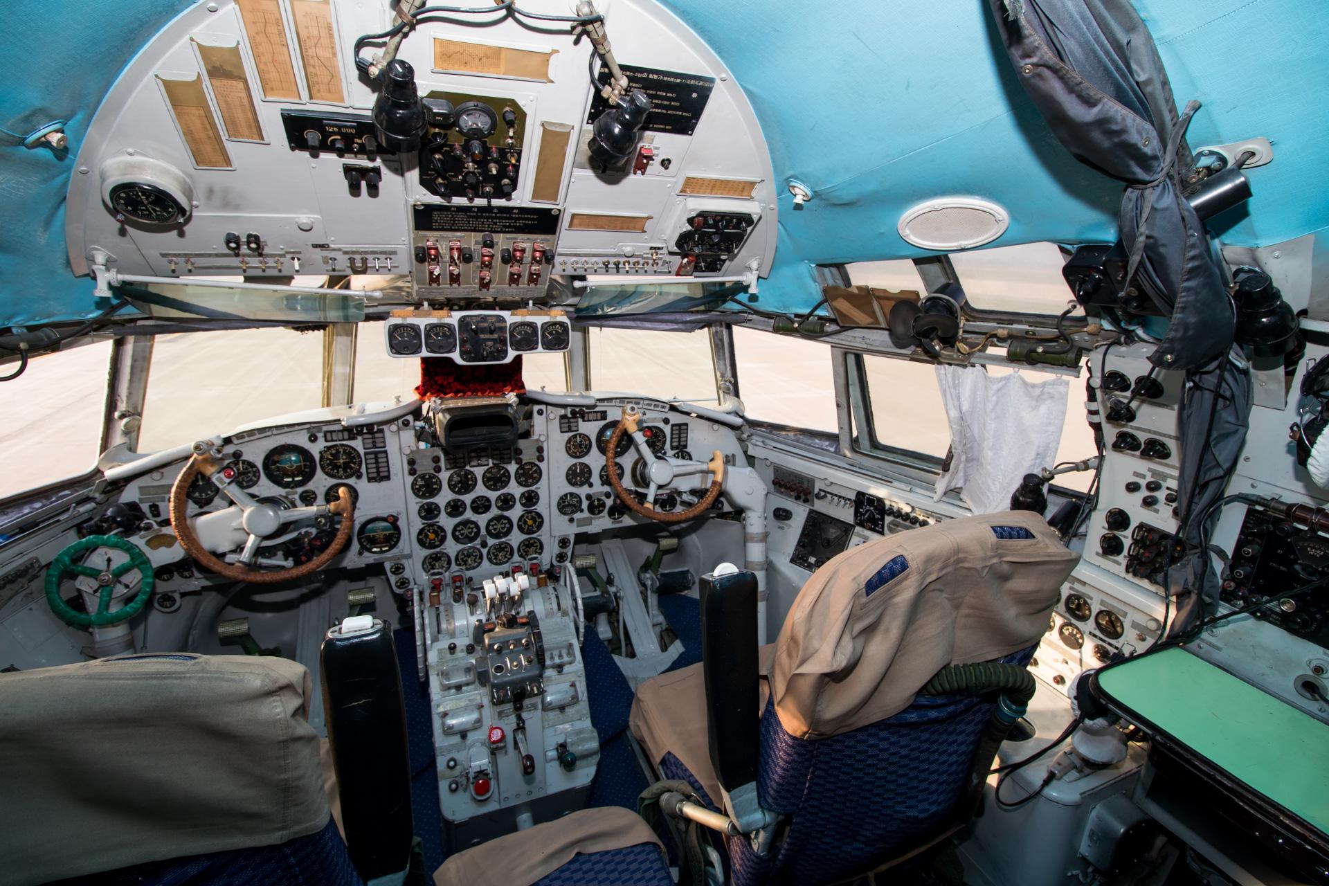 Il-18 Cockpit