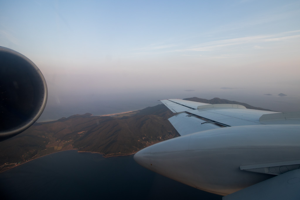 Tu-134 Wing View