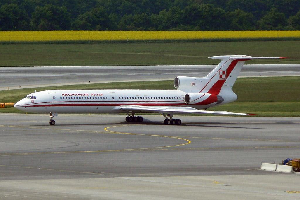 Polish Air Force Tu-154