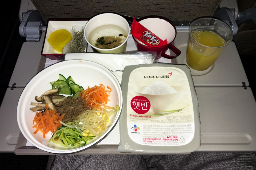 Asiana Airlines A380 Economy Class Review Seoul To New York