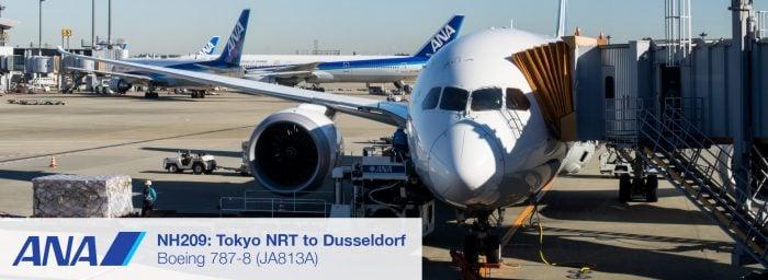 NH209: Tokyo NRT to Dusseldorf