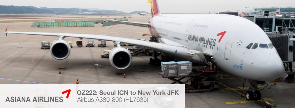 Asiana Airlines A380 Economy Class Review (Seoul Incheon to New York JFK)