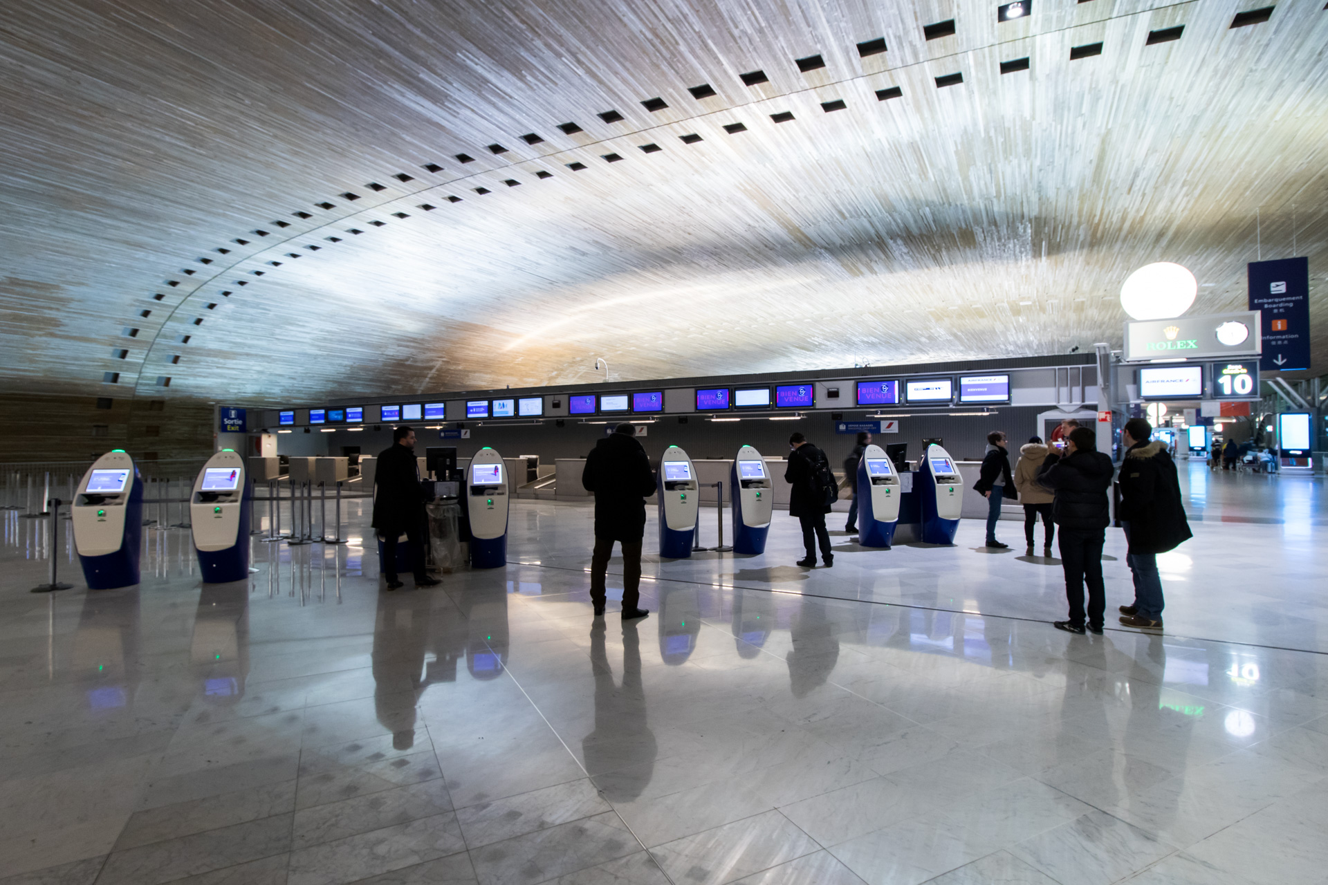 AF787 Check-In Area