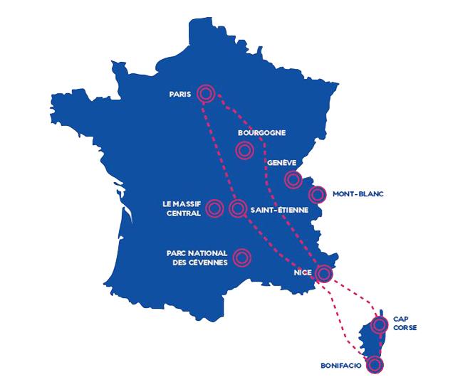 Flight Report: Air France 787-9 Inaugural Sightseeing Flight ...