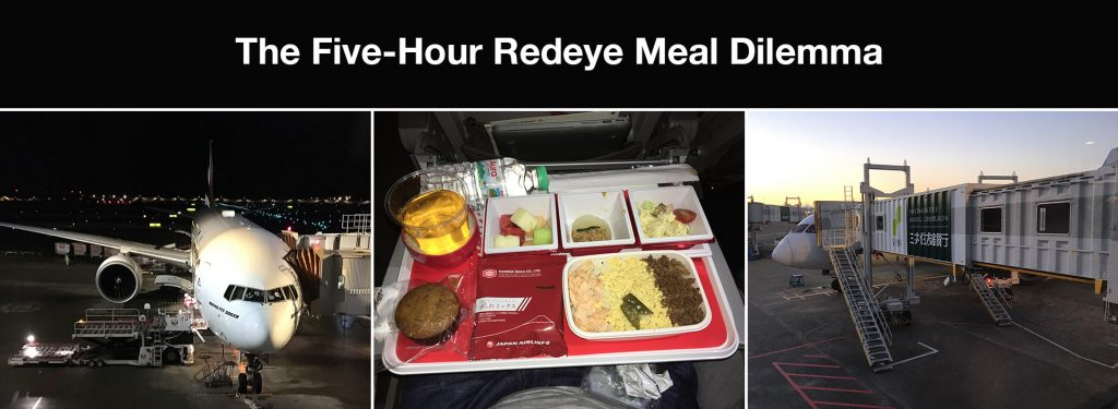 The Five-Hour Redeye Meal Dilemma