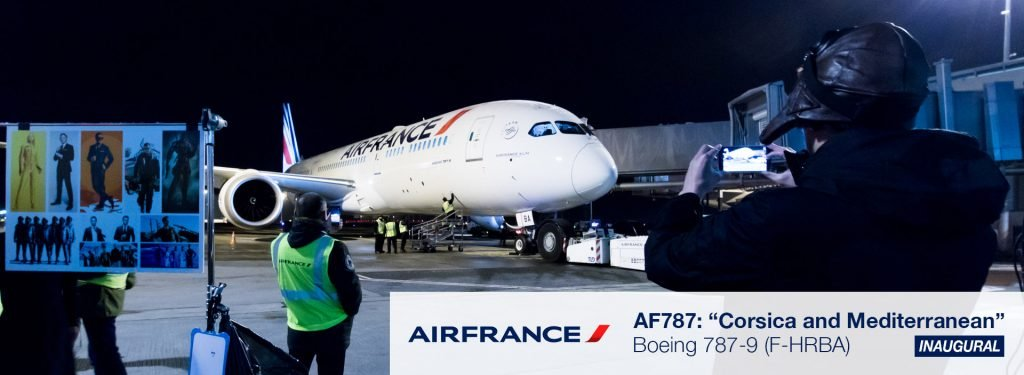 AF787: Bienvenue, Air France Boeing 787-9!