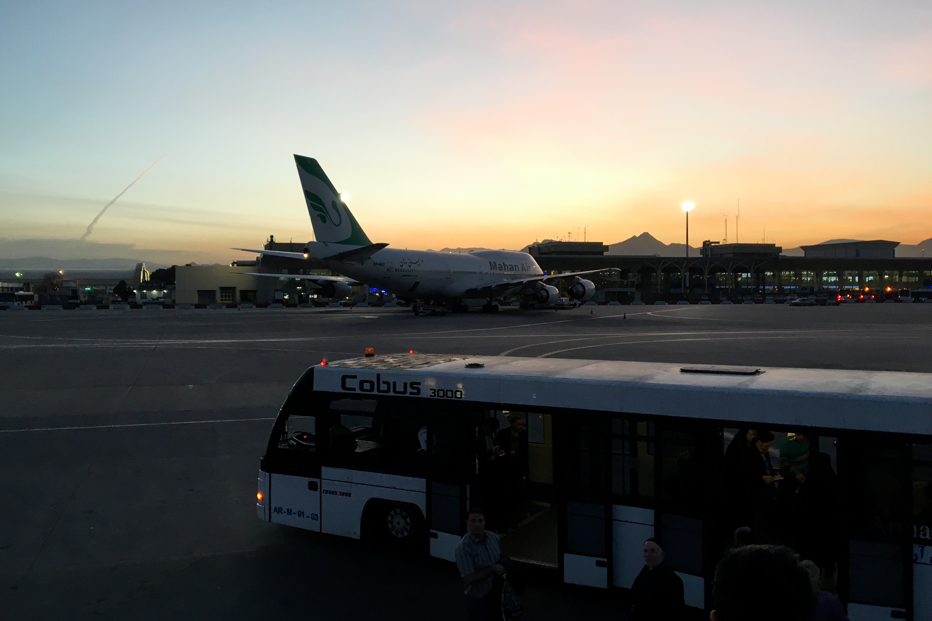 Mahan Air 747