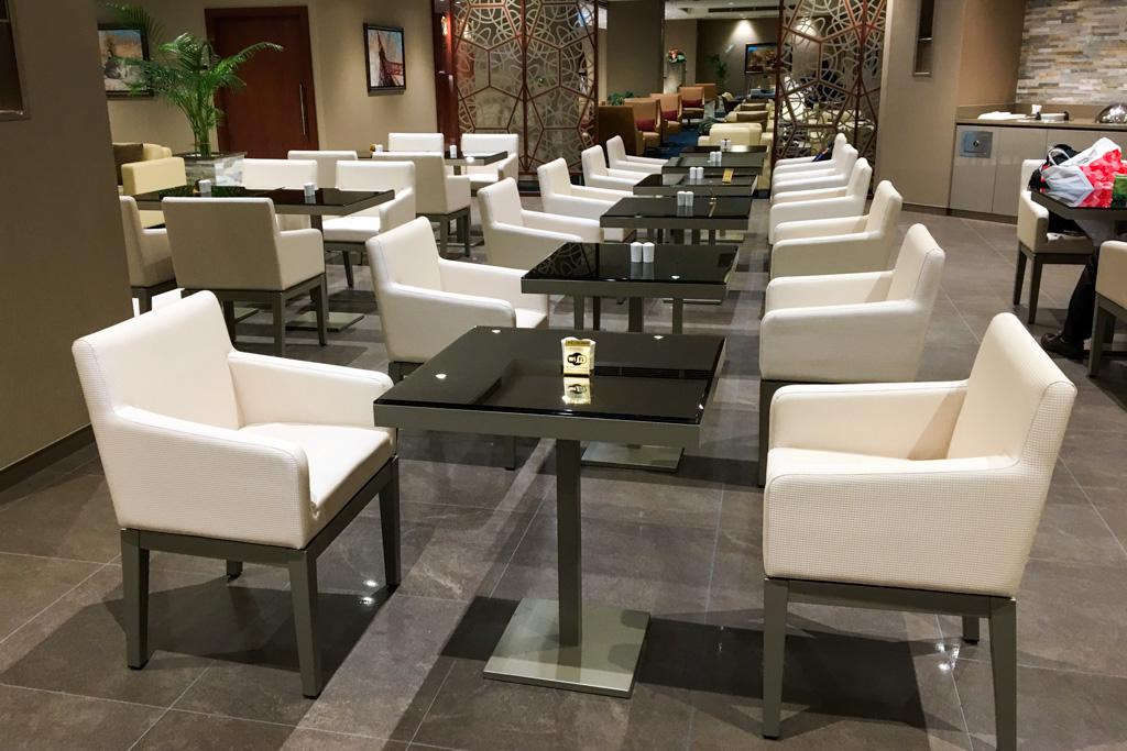 The Emirates Lounge Tokyo Narita Dining Area