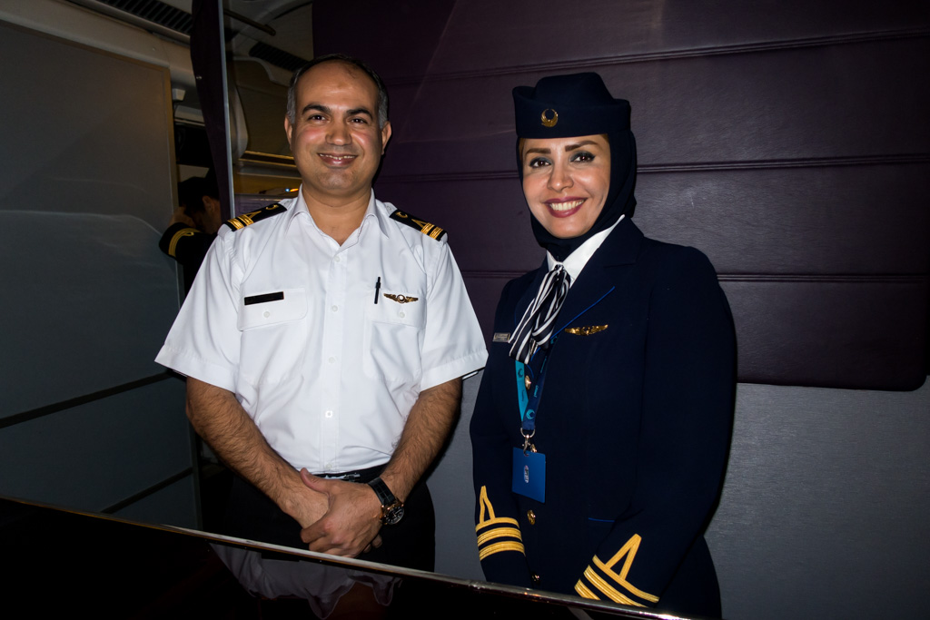Iran Aseman Crew